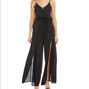 Pants - NWT Size 3 Black Split Leg Jumpsuit. GORGEOUS